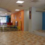 Interior Parque infantil almozara Zaragoza