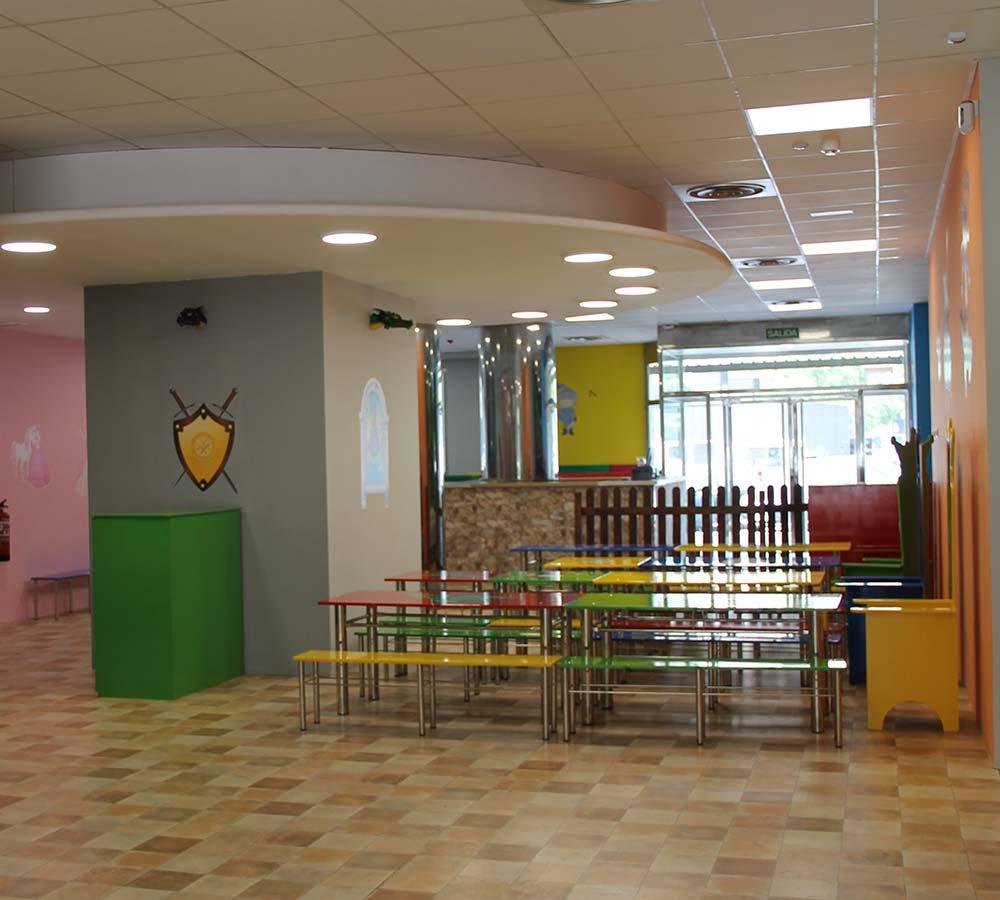 Parque infantil almozara Zaragoza